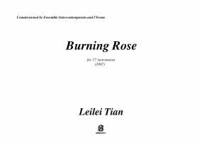 Burning Rose score